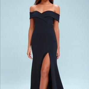 Formal Off Shoulder Dress